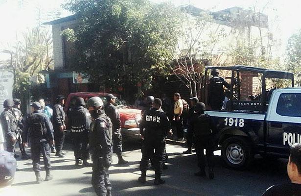 Confrontación en Santa María Ixcotel por elección del agente municipal