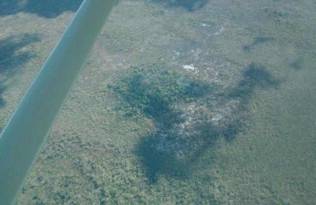 Incendio forestal amenaza a la Reserva de la Biósfera de Calakmul