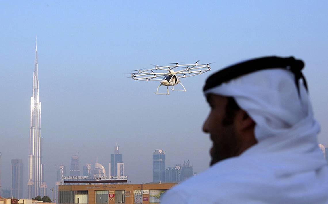 ¡Llegan taxis voladores a Dubái! Presentan ambicioso plan de transporte urbano con drones
