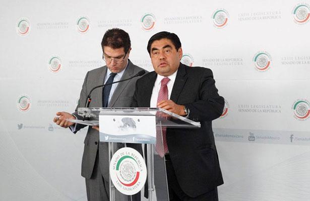 Se analizará si Barbosa sigue como coordinador de senadores del PRD