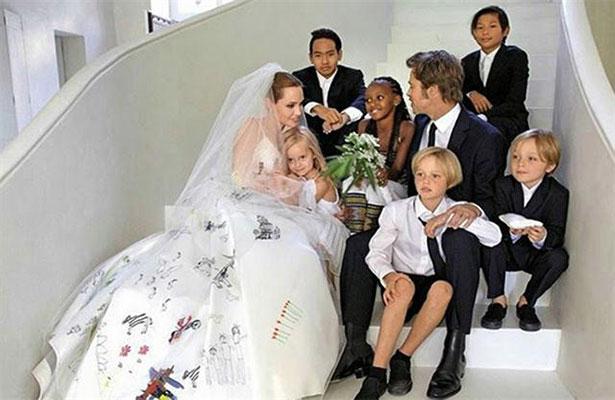 Angelina y Brad Pitt no venderán el castillo francés donde se casaron
