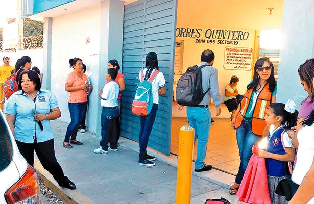 Ausencia escolar en Altamira por crisis de agua
