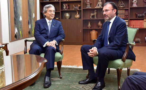 México y Japón, unidos por relaciones comerciales y de inversión: Luis Videgaray