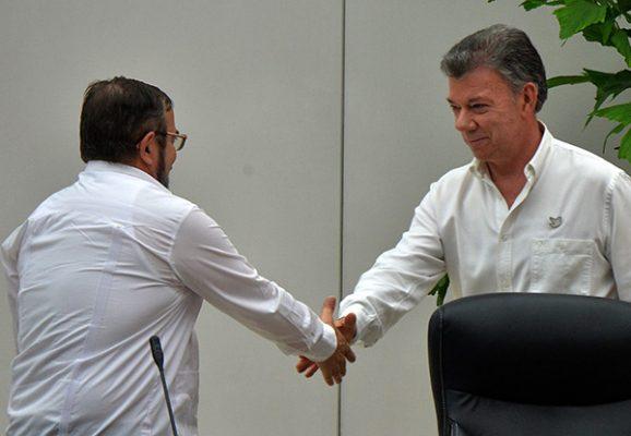 Jefe de las FARC firmará nuevo Acuerdo de Paz con Juan Manuel Santos