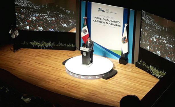 Tamaulipas tiene nuevo modelo educativo
