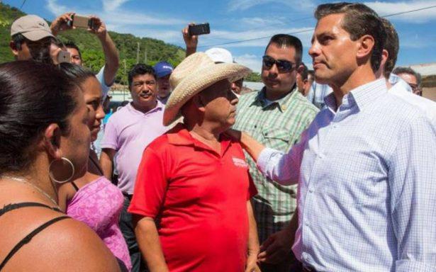 Peña Nieto verifica labores de apoyo a afectados por sismo en Chiapas