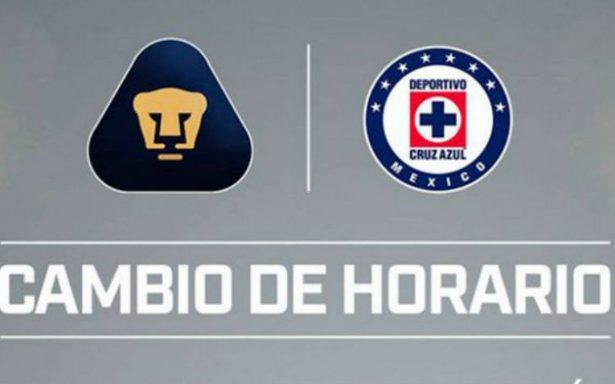 El Pumas vs Cruz Azul en Querétaro cambia de horario