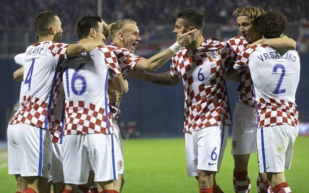 Croacia vence 4-1 a Grecia en partido de ida de la repesca