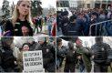 Cientos de manifestantes protestan en Rusia contra la reelección de Putin