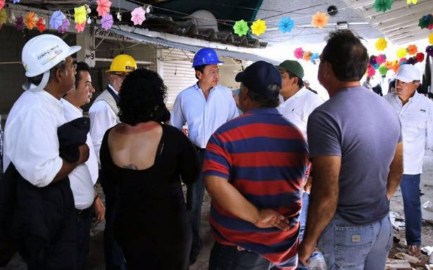 No hay competencia entre gobiernos tras sismo: Osorio Chong