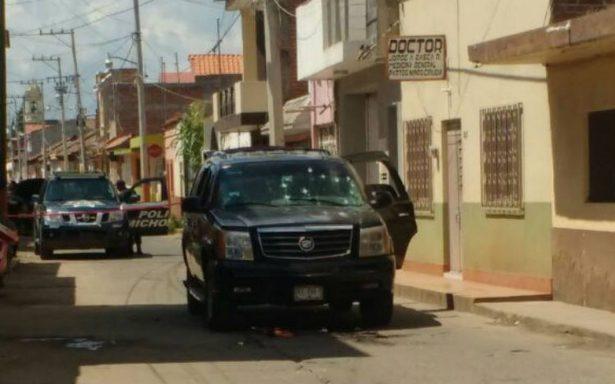 Asesinan a agente en Cotija; su compañero resulto grave