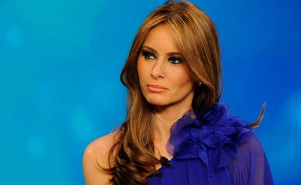 Reportero se disculpa por llamar prostituta a Melania Trump