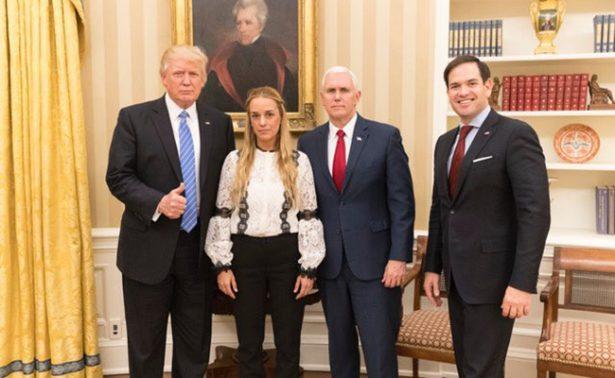 Pide Trump a Venezuela liberación inmediata de Leopoldo López
