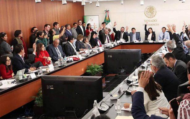 Comisiones del Senado aprueban en lo general Ley de Seguridad Interior