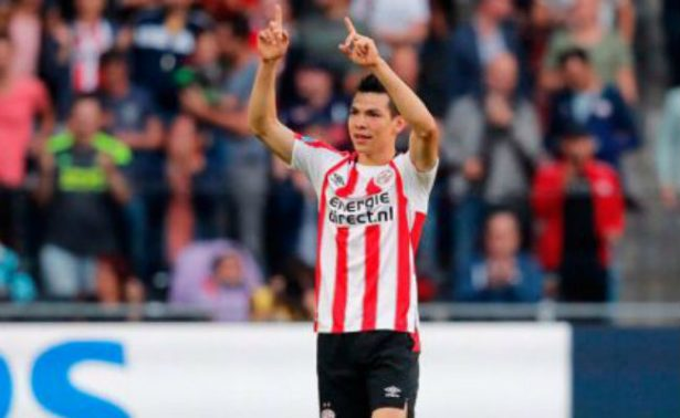 Chucky Lozano debuta con gol en el PSV