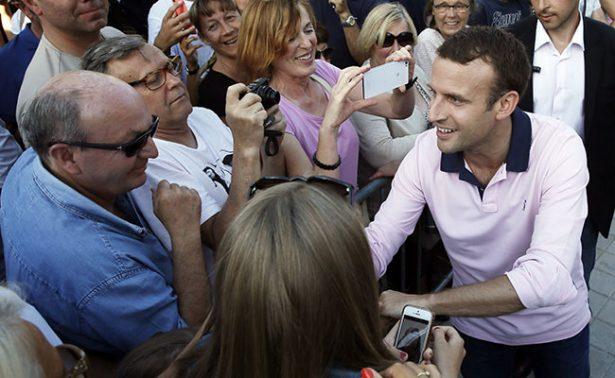 Francia se prepara para una histórica victoria de Macron