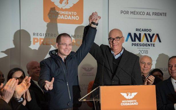 Anaya no dará 'entrevistas banqueteras' así regañó Dante Delgado a la prensa