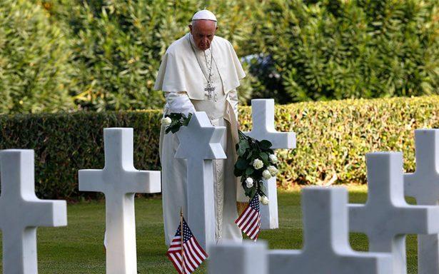 Papa Francisco lanza emotivo discurso contra la guerra