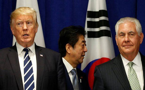 """Negociar con Corea del Norte es """"una pérdida de tiempo"""": Trump"""