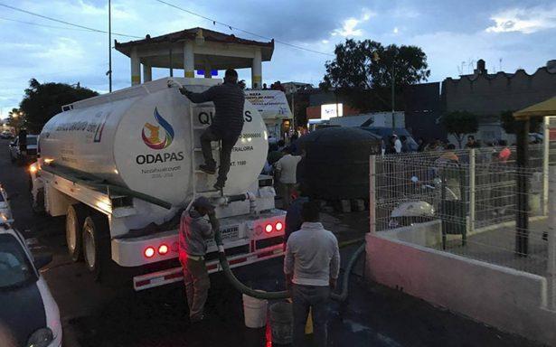 Cerca de un millón de personas siguen sin agua en el Edomex tras sismo