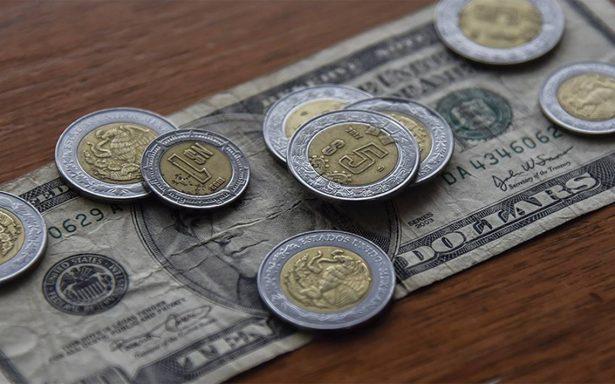 Dólar en ascenso, cierra en 19.45 pesos a la venta en bancos de la CDMX