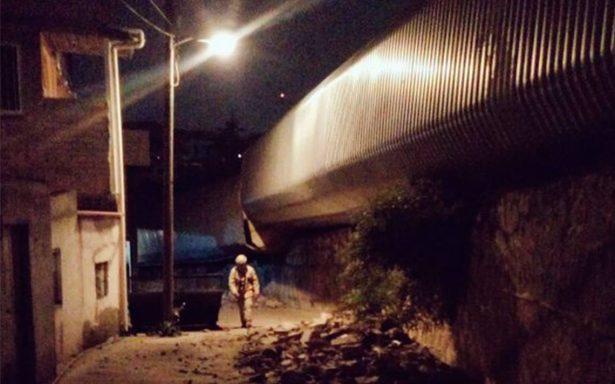 Se descarrila tren en la capital zacatecana