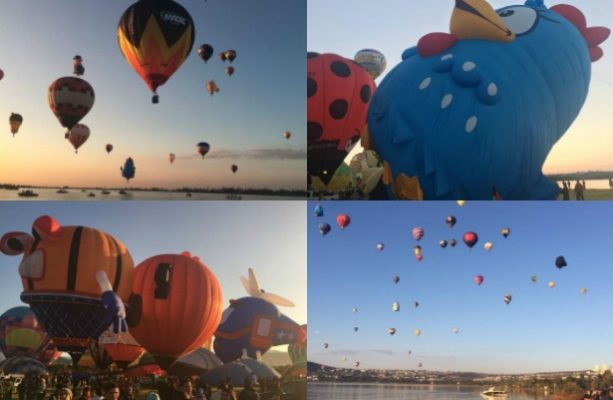 Cientos de globos surcan el cielo en León, Guanajuato
