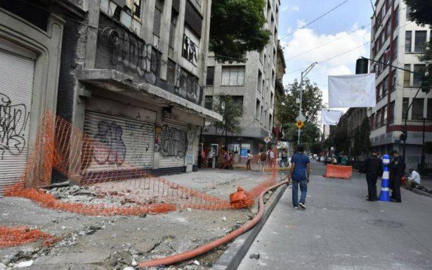 Monreal pide declaratoria de emergencia en la Cuauhtémoc por sismo