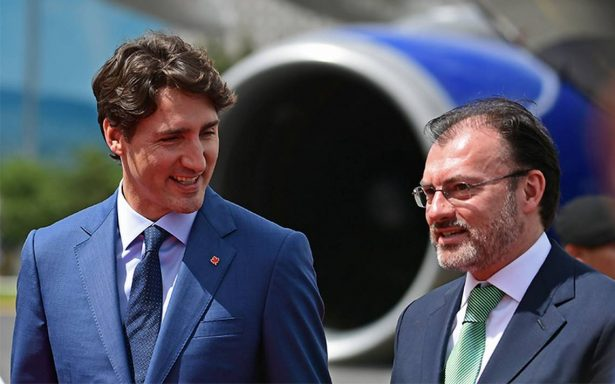 Justin Trudeau arriba a México para visita oficial de dos días