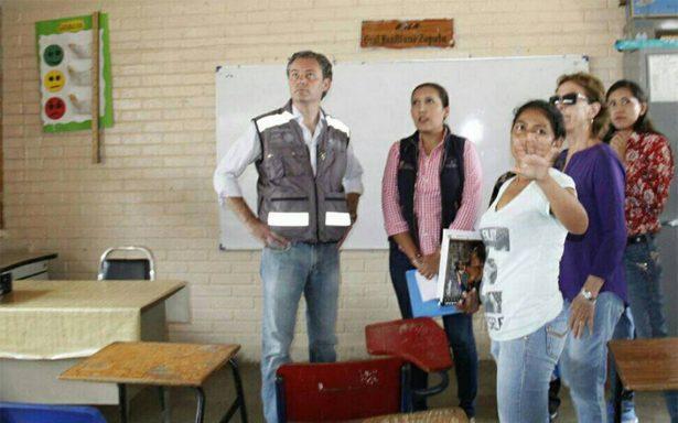 Serán reconstruidas en Guerrero 157 escuelas en su totalidad: Aurelio Nuño
