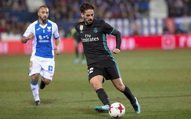 Real Madrid gana por la minima al Leganés en la Copa del Rey