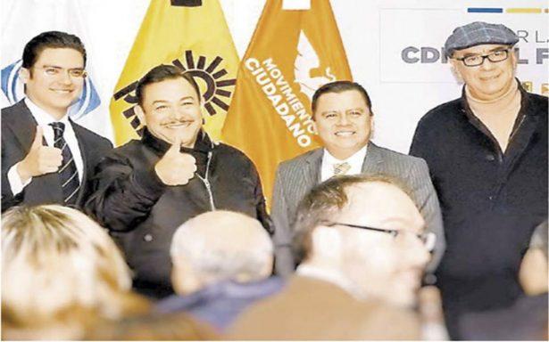Registran alianza Por la Ciudad de México al Frente