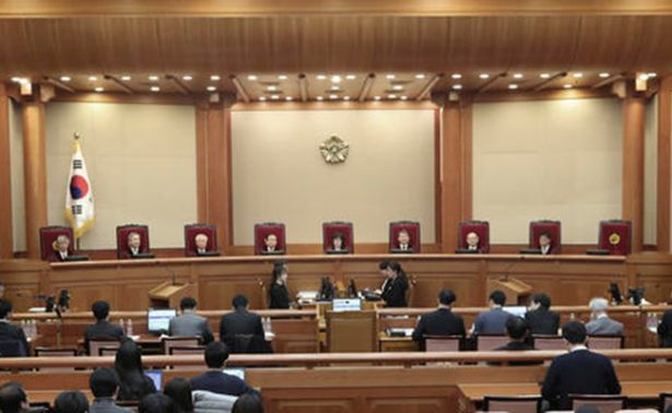Audiencia final contra mandataria de Corea del Sur será la próxima semana: Tribunal