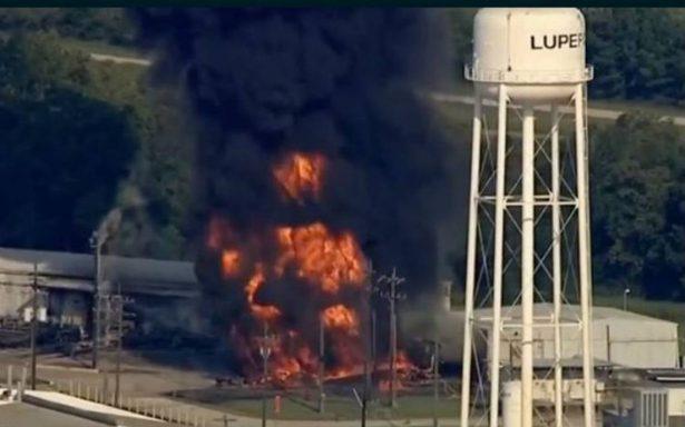Se registra explosión en planta química en Texas
