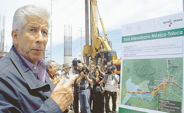 Supervisa SCT pruebas de tren México-Toluca