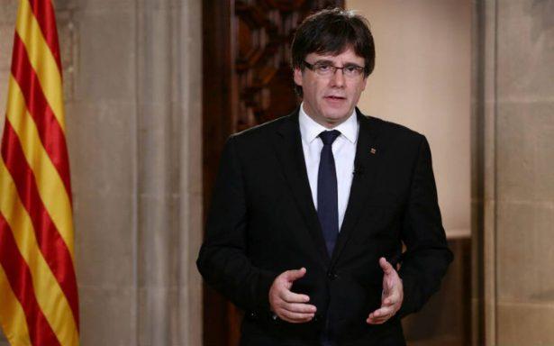 Presidente catalán acusa al rey Felipe de asumir políticas 'catastróficas'