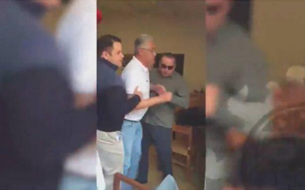 [Video] Detienen a Alejandro Vera, exrector de la UAEM
