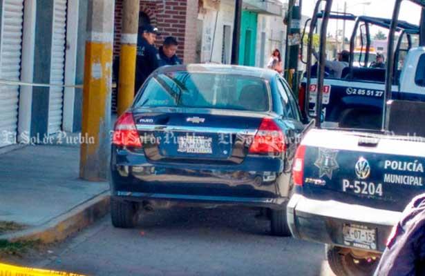 Asesinan conductor de Uber en Puebla