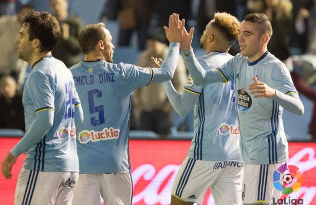 Celta supera 3-1 al Granada y lo hunde en la clasificación