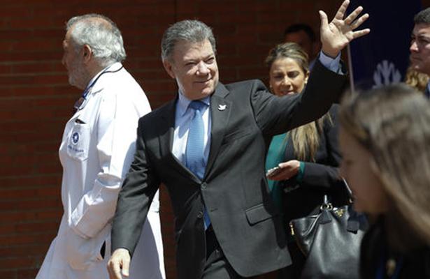 Juan Manuel Santos acalla rumores sobre su estado de salud