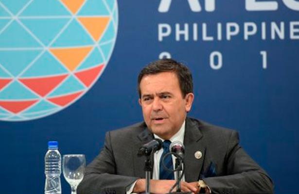 México se vinculará a región Asia-Pacífico con o sin TPP: Guajardo