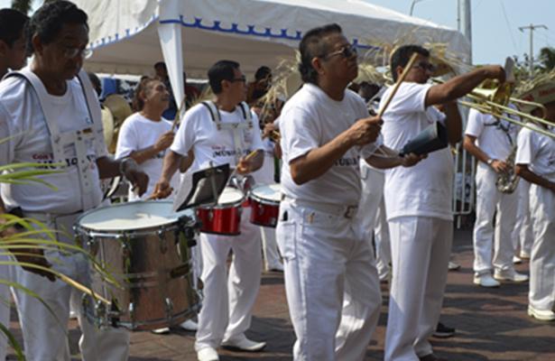 Celebran en Acapulco el Día del Músico