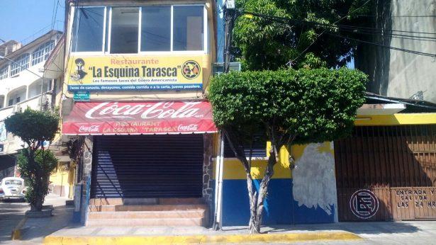 Disparan sobre la fachada de restaurante en la Progreso