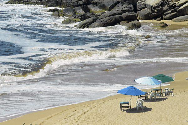 Aspectos de las playas de Acapulco