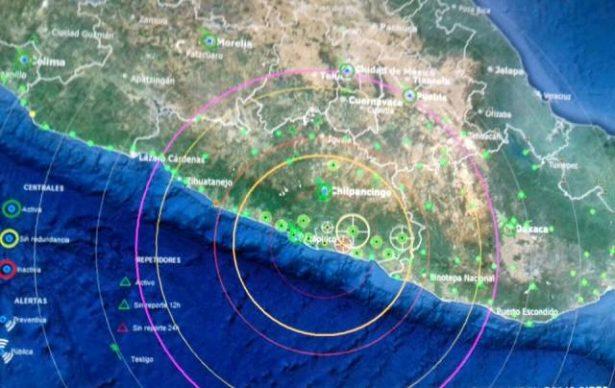 Sismos activan protocolo de seguridad en Guerrero