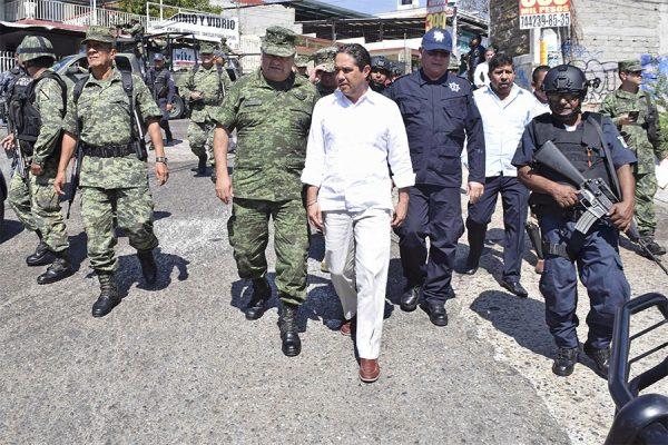 Va funcionando en Acapulco la estrategia de seguridad: Evodio