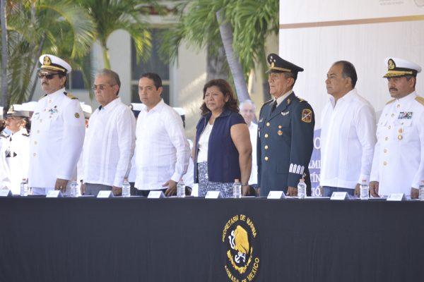 Conmemoración del día de la Armada de México