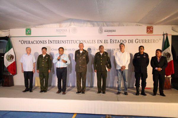 Mantendrá el Ejército operatividad de C4: Héctor Astudillo