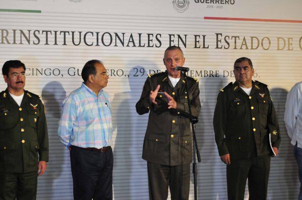 A la baja, delincuencia en Guerrero: Cienfuegos