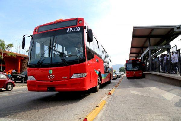 Más de 2 mil usuarios del Acabús dejarán de usar la ruta Coloso-Renacimiento
